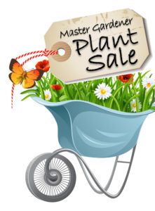 Master Gardener Plant Sale image of cart full of flowers