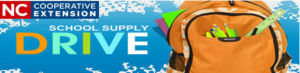 School Supply Drive banner image