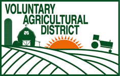Voluntary Agricultural District banner