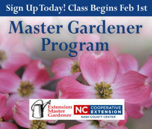 Cover photo for Extension Master Gardener Program - Sign Up Today