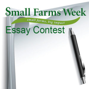 Cover photo for Small Farms Week Essay Contest