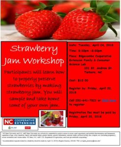 Cover photo for Strawberry Jam Workshop