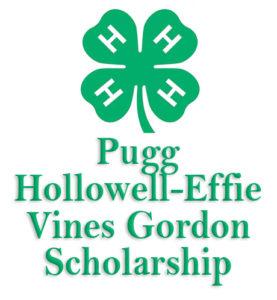 Cover photo for Pugg Hollowell-Effie Vines Gordon Scholarship