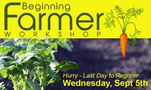Cover photo for Beginning Farmer Workshop