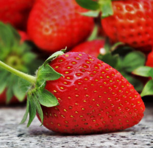 image of ripe strawberry fruit