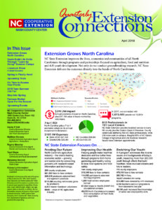 2018 Summer Edition of Extension Connections image