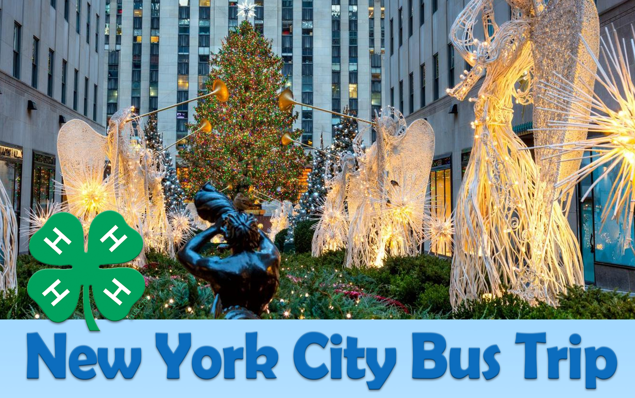 Christmas Ny 2019.New York City Bus Trip North Carolina Cooperative Extension