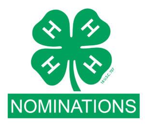 4-H nomination logo image