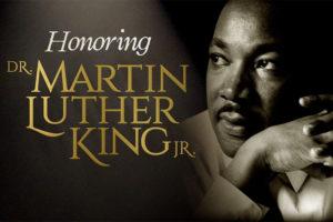 Honoring MLK banner image