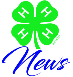 Official 4-H Logo and News headline