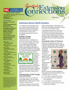 Cover photo for Extension Connections Newsletter