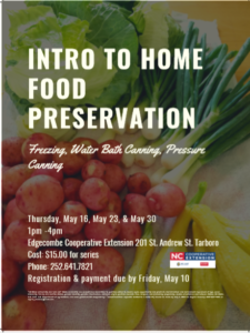 Cover photo for Intro to Home Food Preservation