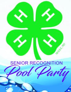 Pool party logo image