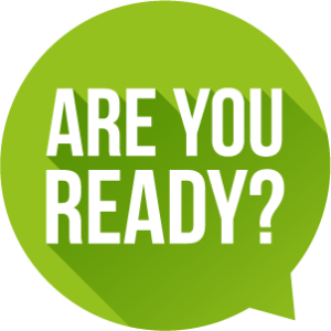 Are you ready logo image