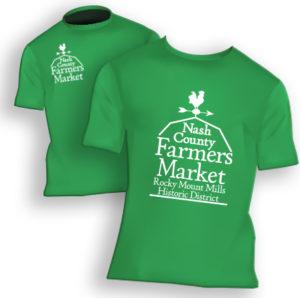 Nash County Farmers Market tshirts