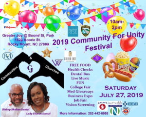 Cover photo for COMMUNITY UNITY FESTIVAL Plus, FREE Medicine Giveaway!!!