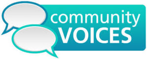 Community Voices logo image