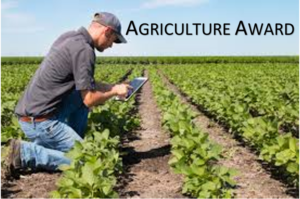 Cover photo for Nash County Agriculture Award at Farm-City Celebration