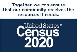 Census 2020 logo image