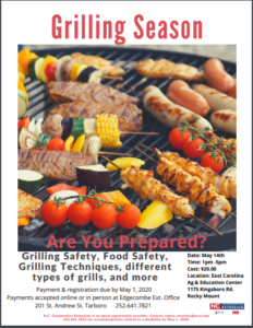 Cover photo for Beginner Grilling Class