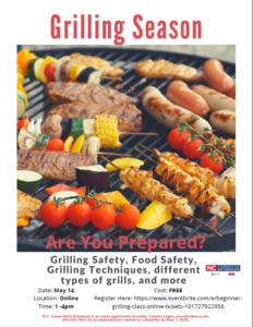 grilling season flyer