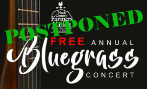 Cover photo for POSTPONED - Bluegrass Concert