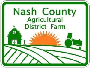 Nash County Agricultural District Farm logo