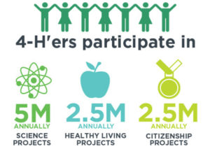 4-H participation nationally