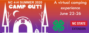 Cover photo for NC 4-H Summer Camp Out