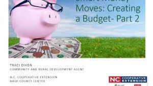 Cover photo for Smart Money Moves: Creating a Budget- Part 2