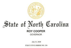 Cover photo for State of Emergency for North Carolina Issued