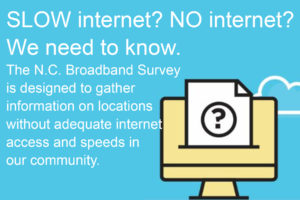 Cover photo for North Carolina Broadband Survey