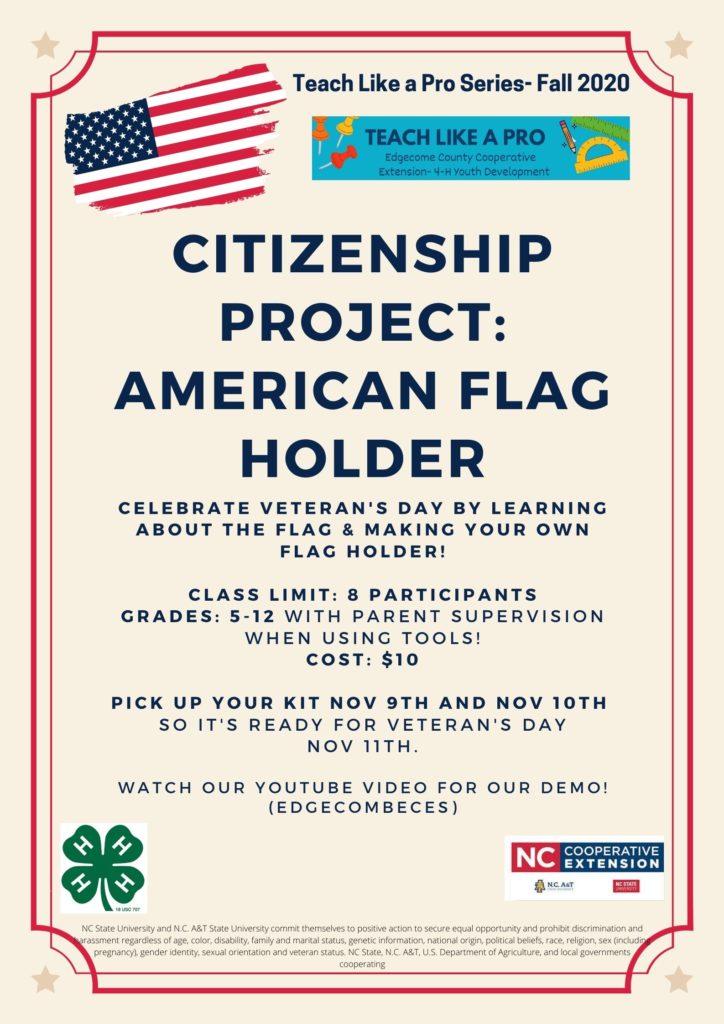 Citizenship Project flyer