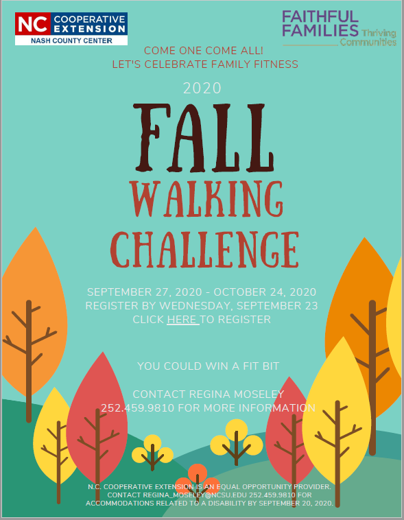 Fall Walking Challenge