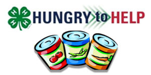 Cover photo for 4-H Hungry to Help Food Drive