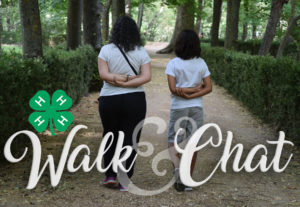 Cover photo for 4-H Walk and Chat