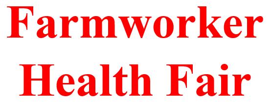Farmworker Health Fair header image