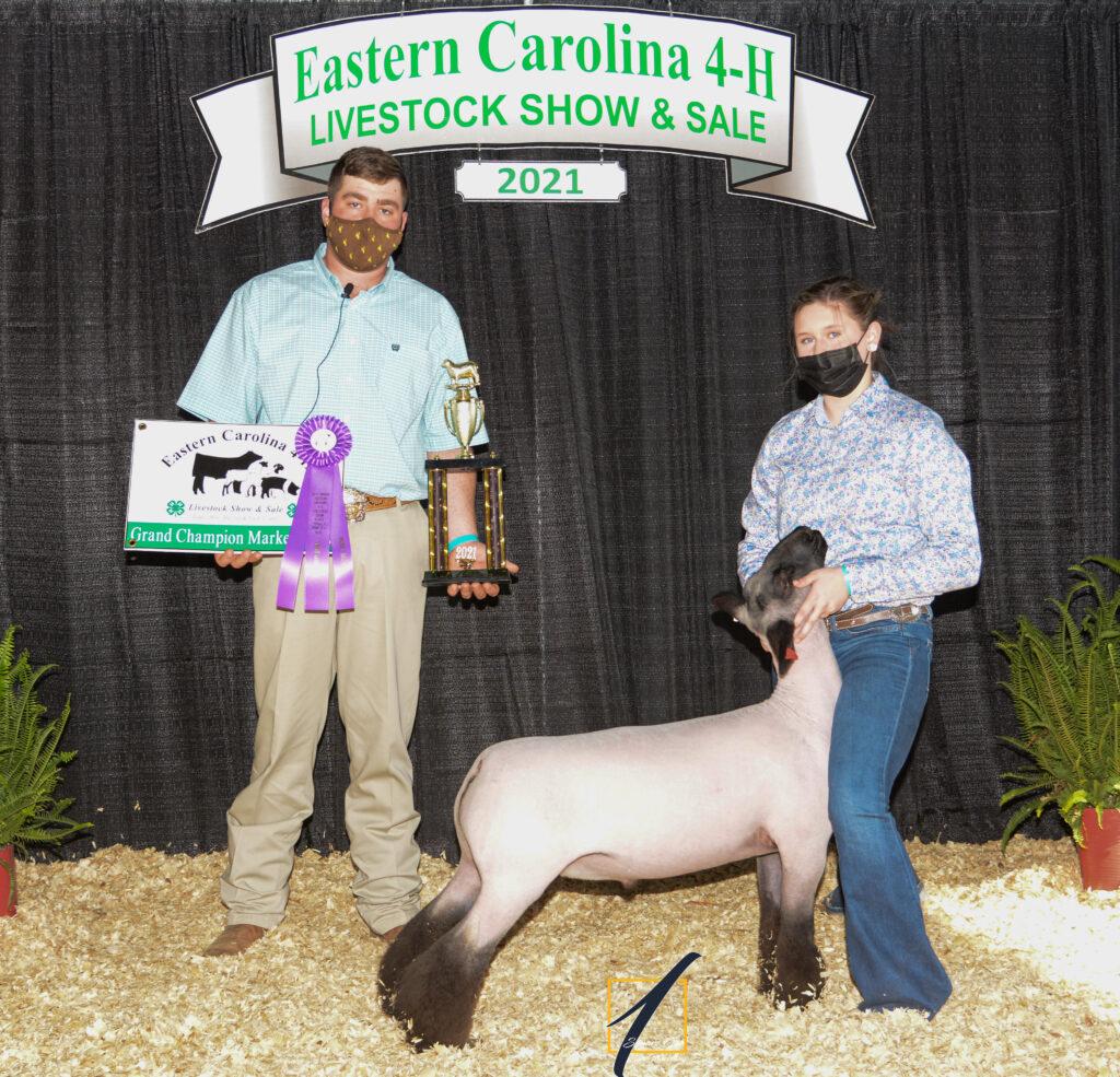Grand Champion Market Lamb - Emma Britt