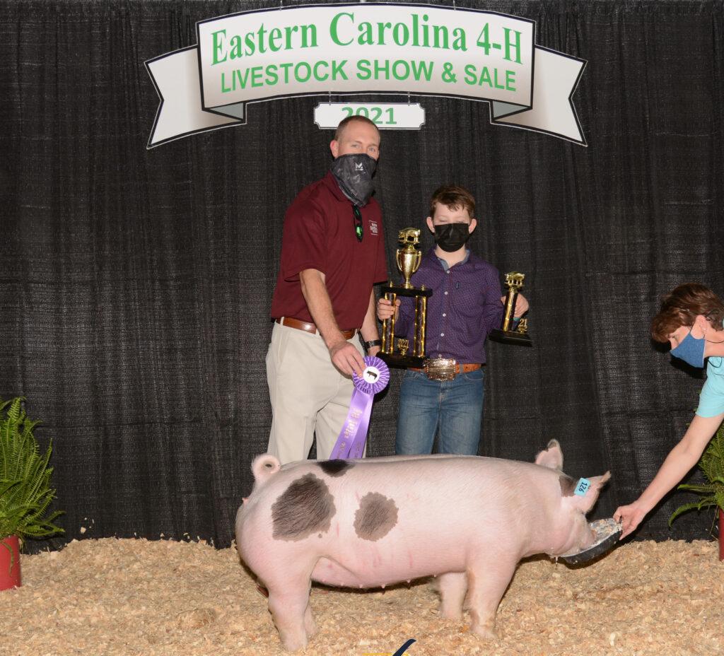 Grand Champion Market Hog - Evan Mayo