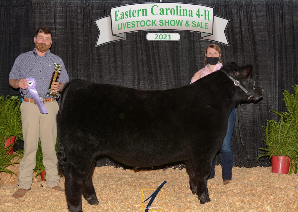 Reserve Champion Market Steer - Lindsay-Grace Joyner