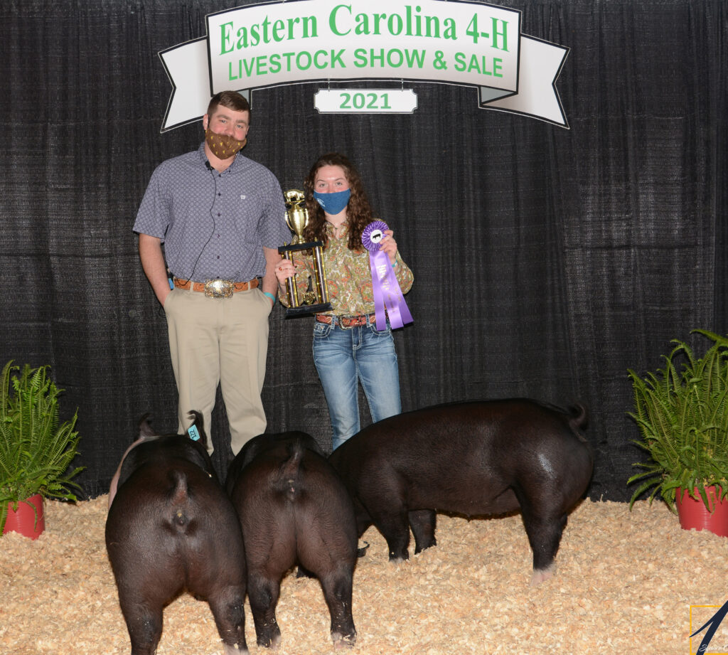 Grand Champion Pen of 3 - Rose O'Malley