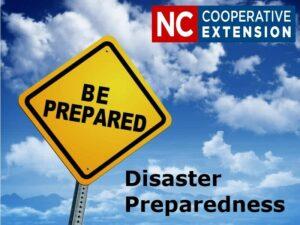 Cover photo for Be Prepared: Disaster Preparedness