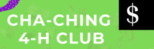 Cover photo for Cha-Ching 4-H Spin Club